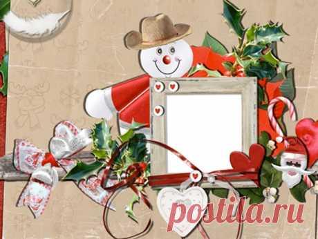 """Прикольная зимняя детская рамка для оформления ваших детских зимних фотографии  Аппликация о снеговика  Цена: 300 рублей  Здравствуйте, уважаемые участники моей группы! Я рисую логотипы, придумываю дизайнер визиток, папок, обложек, открыток с красивыми шрифтами, с разными стилями. И делаю любой фотомонтаж! А еще создаю клипы из фотографии! Оплата по договоренности! Обращайтесь! С уважением к вам Александр!  """"P.S."""" Всем, всем, всем! Я всех приглашаю в мою группу - """"Подарки ..."""
