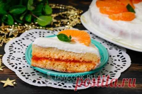 Бисквитный торт в мультиварке — рецепт с фото пошагово