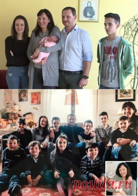 Казаско, Комо: итальянка, в свои 38 лет родила в одиннадцатый раз. Видео - новости Италии