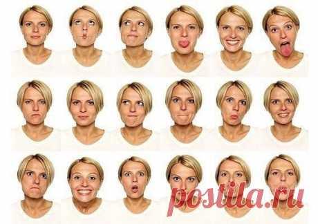 Специальный комплекс простых упражнений для лица — Мегаздоров