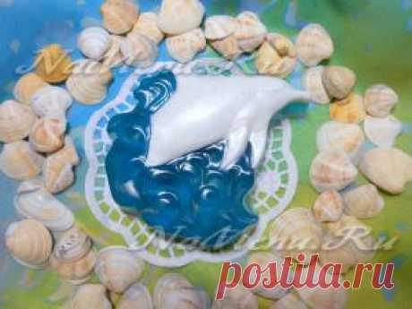 "El jabón ""Дельфин"""