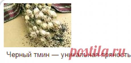 Черный тмин лечение и кулинария   Веды и Ведическая культура