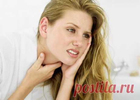 Горло лечение: боль в горле при глотании, средства от боли в горле
