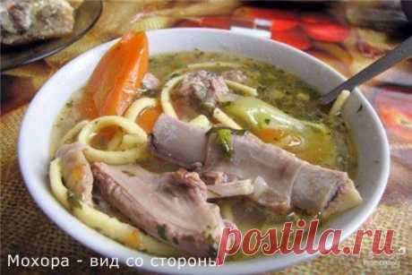 Мохора, потрясающий узбекский суп.
