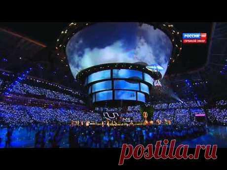 """Гарик Сукачев - """"Напои меня водой"""". Закрытие Универсиады 2013. - YouTube"""