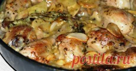 Курица, запеченная в ряженке - Со Вкусом
