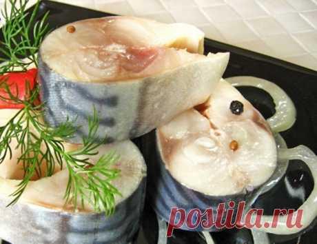 «Точь-в-точь как красная рыба» - именно так отзываются о моей маринованной скумбрии