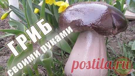 Гриб своими руками. Мастер класс | DIY mushroom