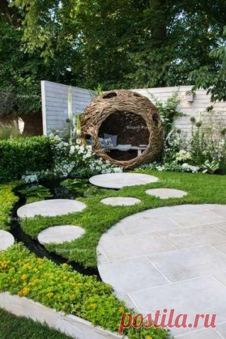 (81) Pinterest - 15 идей Как Сделать Красивый Дизайн на Даче Своими Руками | Декор сада