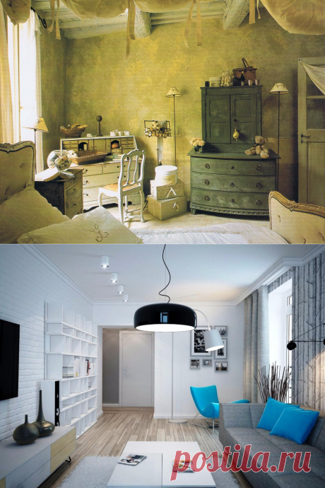 Идеи переделки старой мебели своими руками на новый лад - как из старой сделать новую