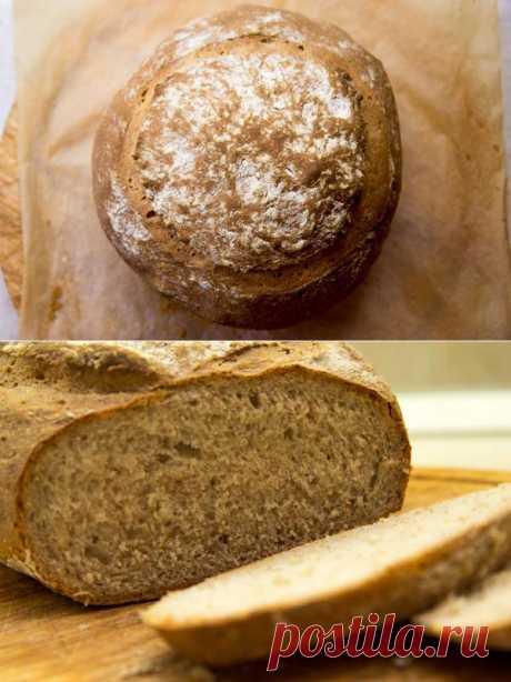 Деревенский хлеб на кефире