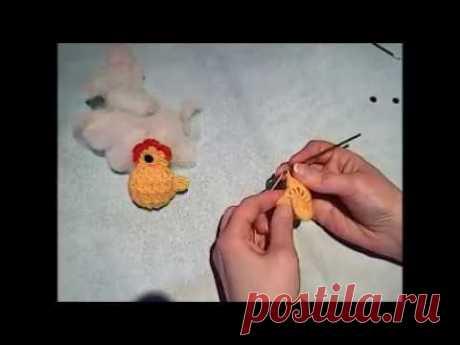 Пасхальный цыплёнок-амигуруми за 30 минут. - Вязание - Страна Мам
