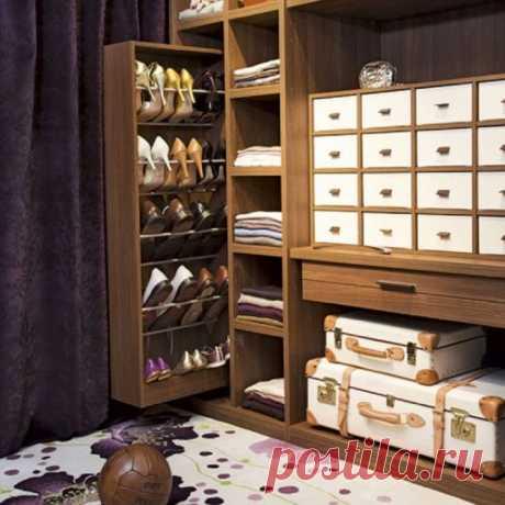 18 практичных и необычных идей для хранения обуви – Ярмарка Мастеров