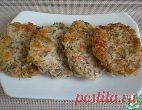 Оладьи из крабовых палочек – кулинарный рецепт