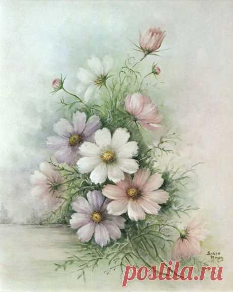 Цветочная нежность   Sonie Ames