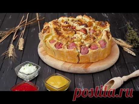 Пирог с сосисками - Рецепты от Со Вкусом