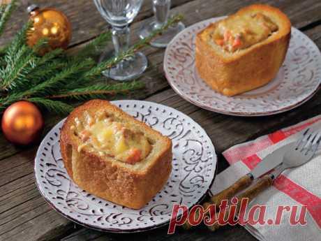 Жаркое в хлебе рецепт - Рецепты