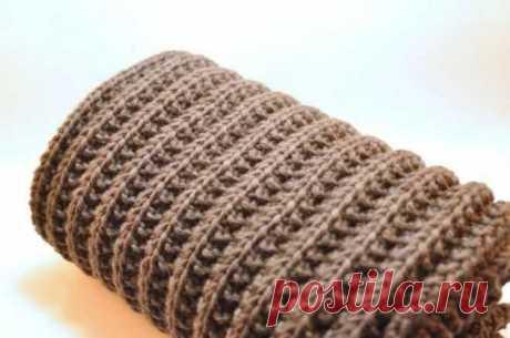 Особенности вязания польской резинкой