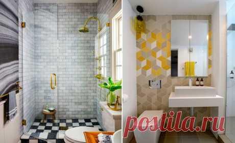 15 маленьких ванных комнат – Своими руками