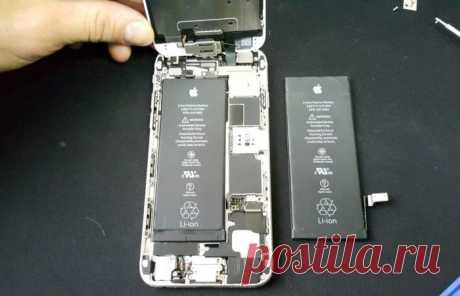 Во всех iPhone 6 и более поздних версиях Apple заменит батарею почти даром . Чёрт побери