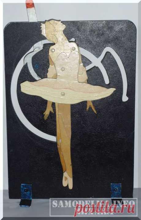 Сувенир своими руками: балерина на шарнирах