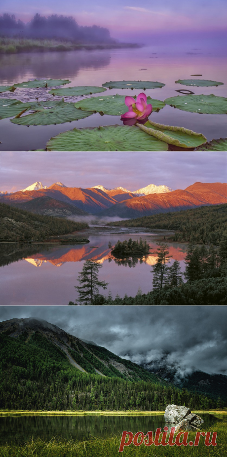 Уникальные озера России, которые непременно нужно увидеть!