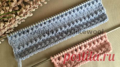 Великолепный узор для начала вязания! | Вязать легко и просто! | Яндекс Дзен