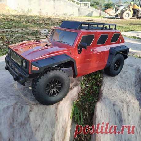Jlb jlb4 1/8 2.4g 4wd brushed waterproof crawler rc car vehicle models Sale - Banggood.com