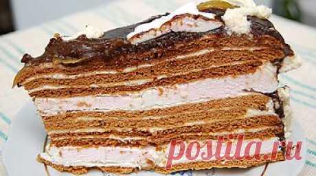 Вкусный торт домашнего приготовления