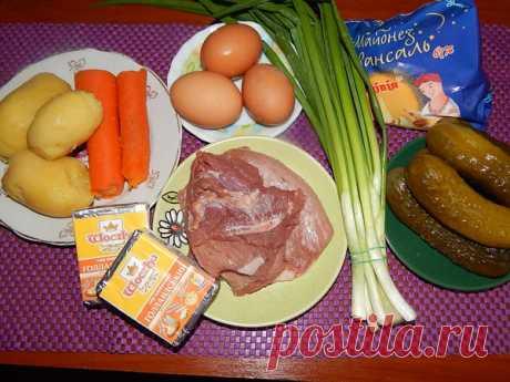 Слоеный салат с луком с пикантным послевкусием | Простые и вкусные рецепты с фото | Яндекс Дзен