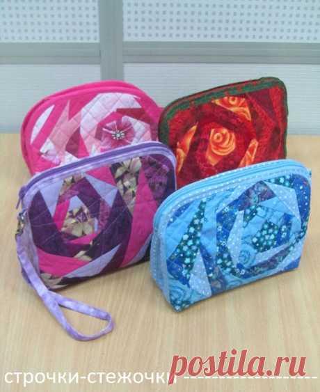Косметички, сумки и другое. Работы учениц.