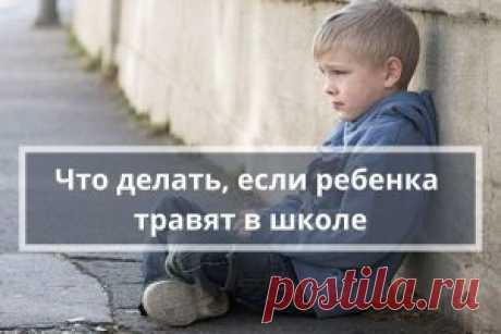 Что делать родителям, если ребенка травят в школе | Психология