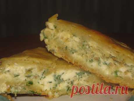 Пирог с плавленным сыром и луком – пошаговый рецепт с фотографиями