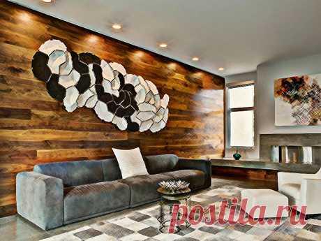 Ламинат на стене в интерьере: фото, достоинства, укладка Ламинат на стене в интерьере: фото, достоинства, укладка. Какой ламинат подходит для стен. Класс и цвет. Способ укладки. Монтаж на стену. Ламинат в интерьере разных помещений.