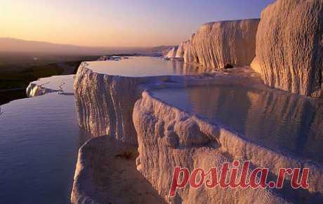 Термальные источники Памуккале-восьмое чудо света