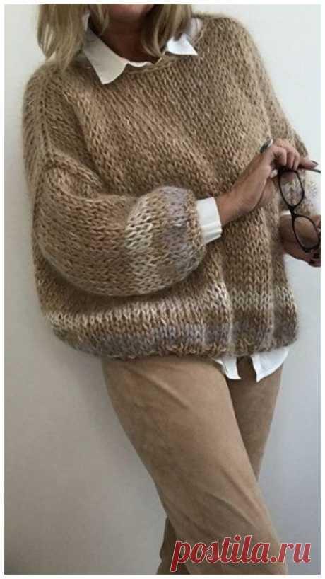Модные повседеневные свитера осень-зима 2020-2021