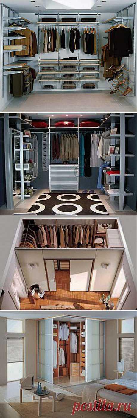 Строительство гардеробной комнаты своими руками | Наш уютный дом