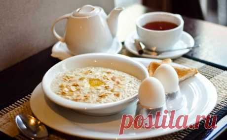 Какие блюда и продукты нужно есть на завтрак, чтобы чувство голода еще долго вас не посещало
