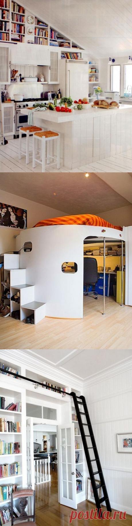 Все плюсы высоких потолков: 20 стильных примеров функционального оформления квартиры | Мой дом
