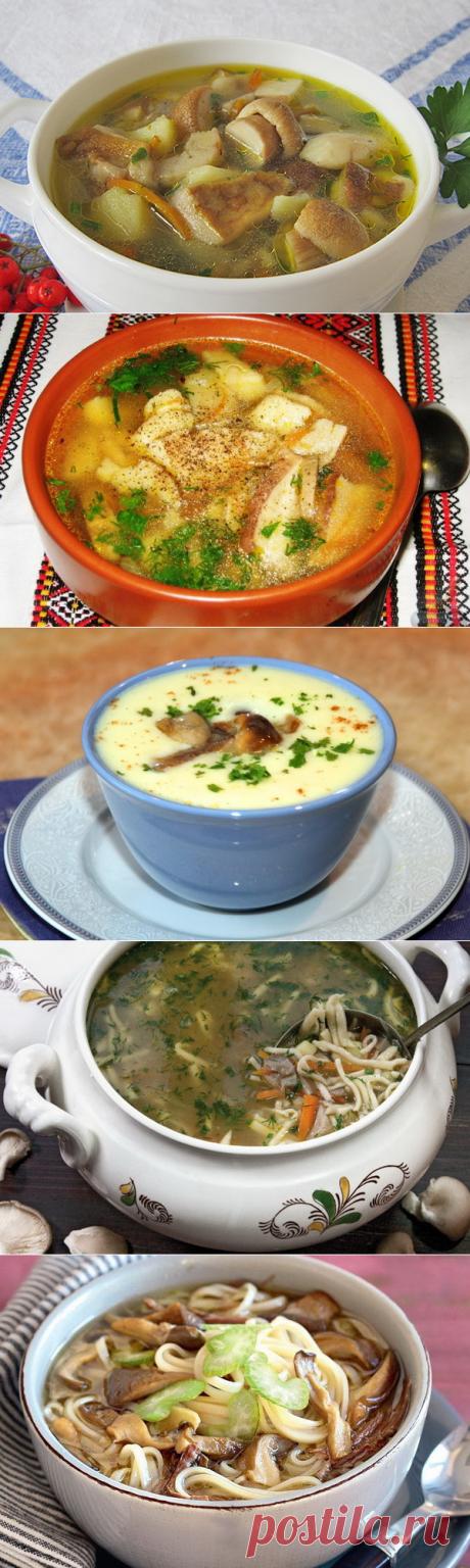 Грибные супы..
