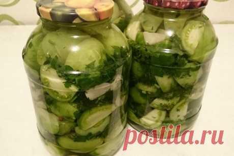 Зеленые помидоры на зиму - 12 вкусных рецептов заготовок зеленых помидор
