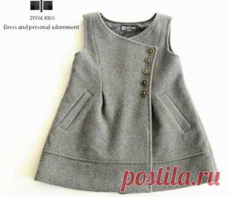 Идея для детского платья