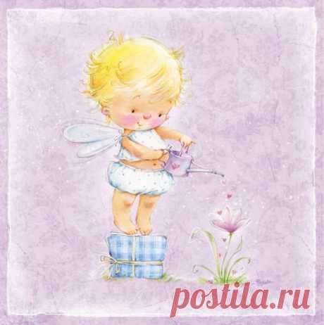 Художник-иллюстратор Марина Федотова. Девочки и феечки-2