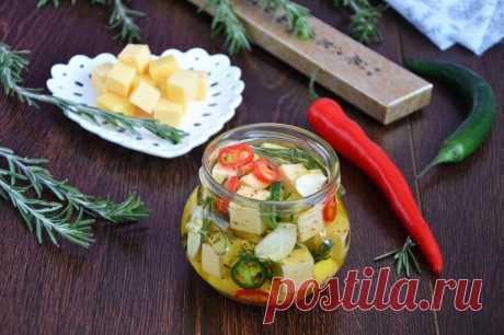 Маринованный сыр рецепт с фото пошагово и video - 1000.menu