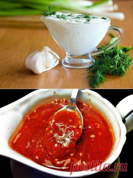 6 супер-вкусных соусов к мясным блюдам.