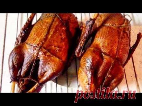 🛑Как коптить гуся. Очень простой способ. Копчение по дедовским рецептам. How to smoke a goose