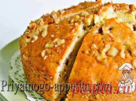 Медово-ореховый кекс | Домашняя кулинария