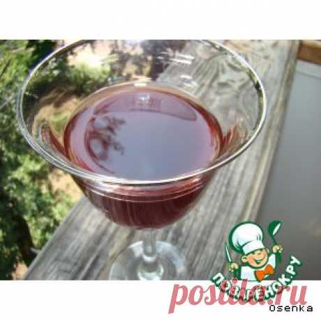 Вишнeвая (ягодная) наливка без добавления спирта, слабоалкогольная - кулинарный рецепт