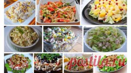 Любимые салаты с куриным филе: 10 рецептов