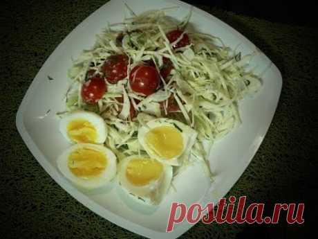 Простой рецепт салата / A simple salad recipe